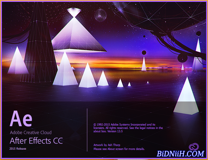 Adobe After Effect CC 2015 13.5